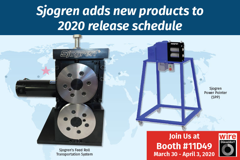Sjogren adds new products to 2020 release schedule