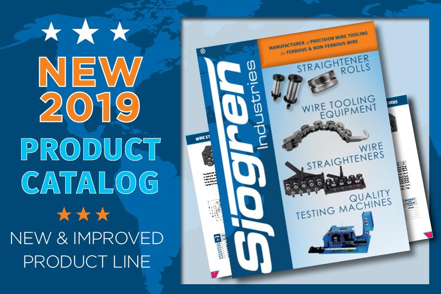 Sjogren Industries Releases 2019 Catalog