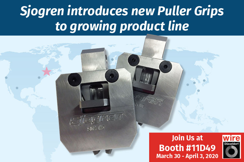 Sjogren introduces new Puller Grips to growing product line
