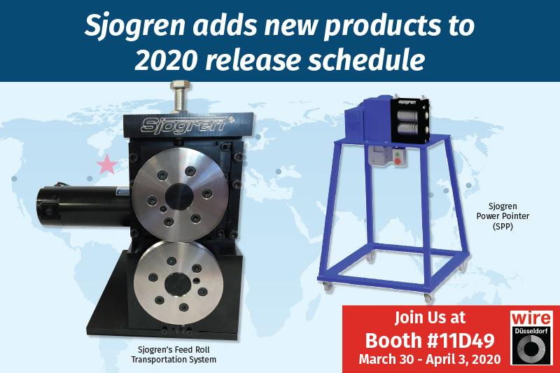 Sjogren adds new products to 2020 release schedule