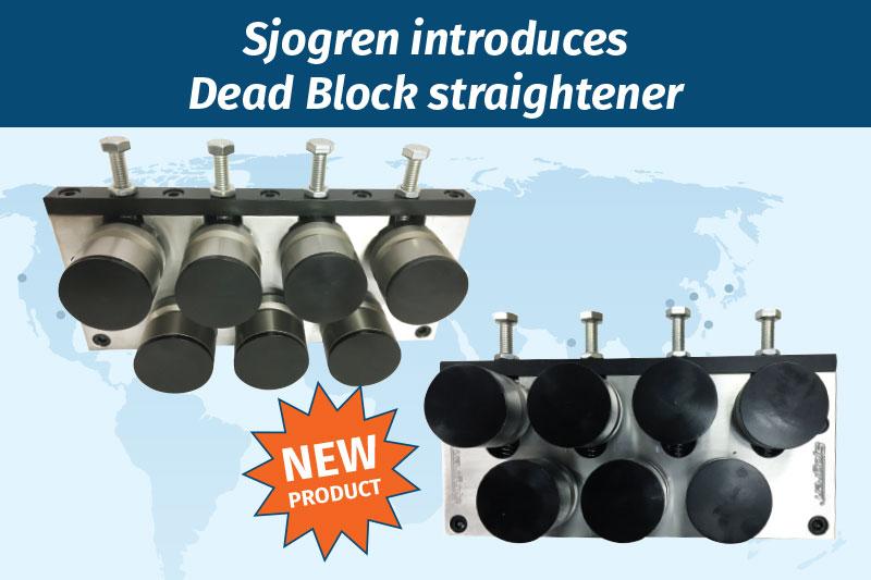 Sjogren introduces Dead Block straightener