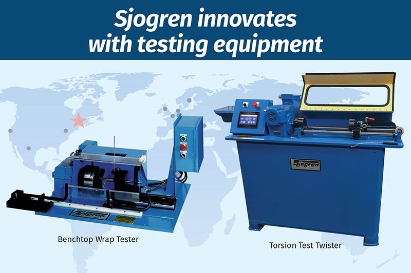 Sjogren innovates with testing equipment