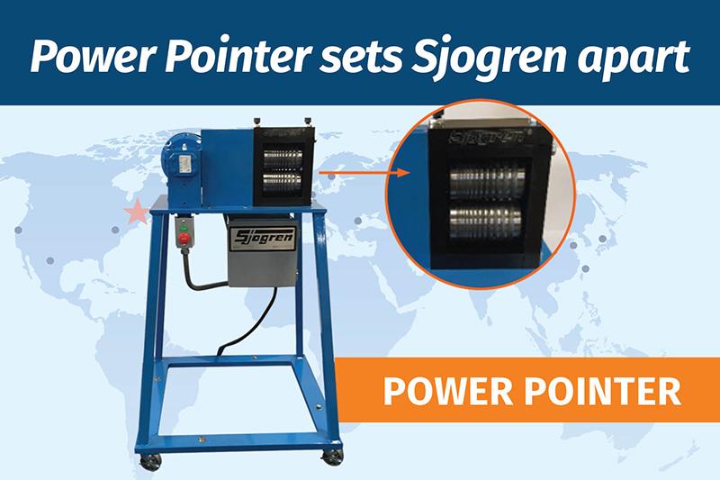 Power Pointer sets Sjogren apart